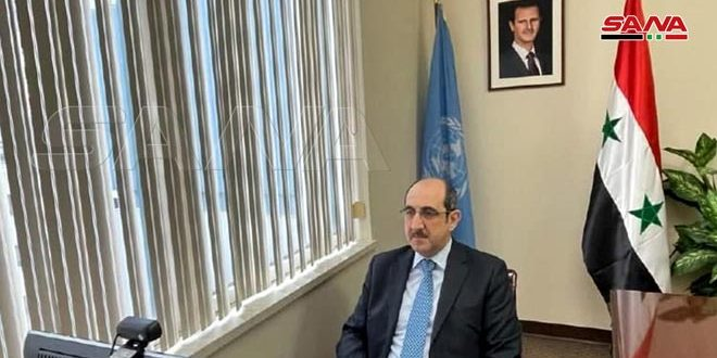 Sabbagh: Western- French draft resolution submitted to Conference of OPCW is a  dangerous precedent