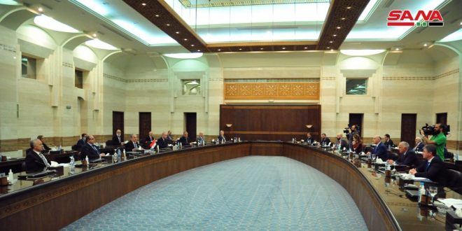 Syrian-Abkhazian Joint Committee holds its first round in Damascus