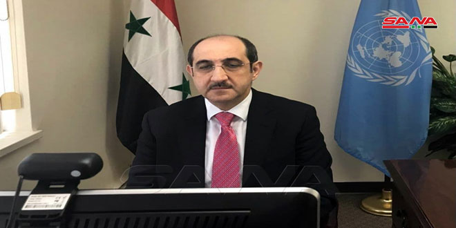 Sabbagh: Hostile decision of OPCW against Syria stresses its submission to western countries