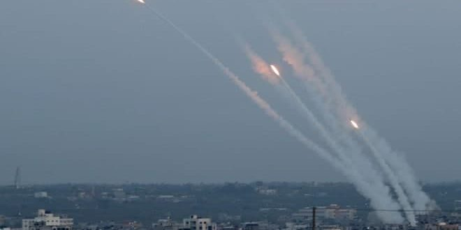 Palestinian resistance targets Israeli occupation settlements with missiles