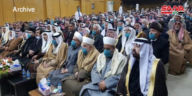 Arab clans denounce practices of Turkish and US occupations, affirm participation in presidential elections