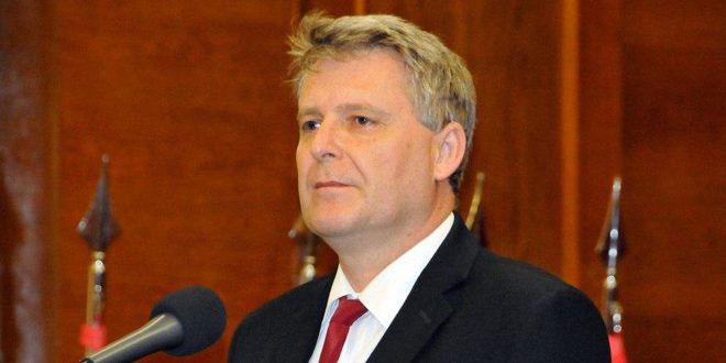 Grospic calls for standing by Syrian in the face of unilateral coercive measures