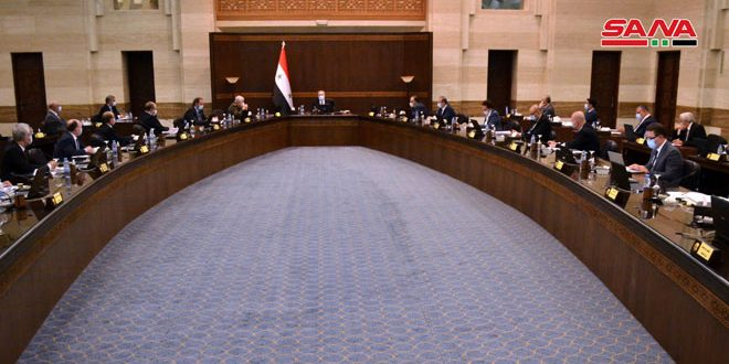 Cabinet discusses a number of projects related to services and health sector