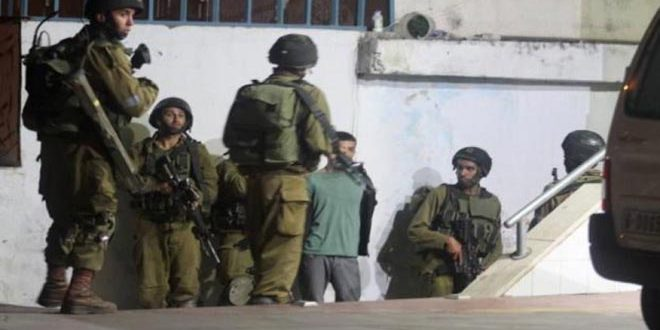 Update- Israeli occupation troops arrest fourteen Palestinians