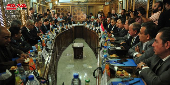 Syrian-Iraqi talks to boost industrial and trade cooperation