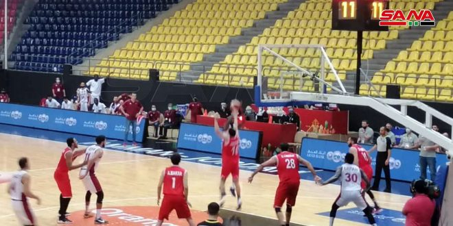 Syrian Basketball team qualifies for Asia finals after beating Qatar