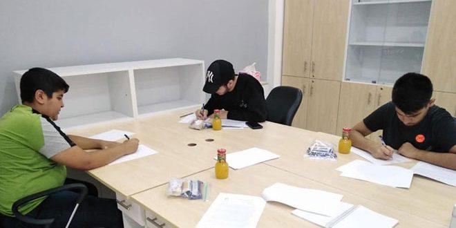 Syria participates in Iranian Combinatorics Olympiad