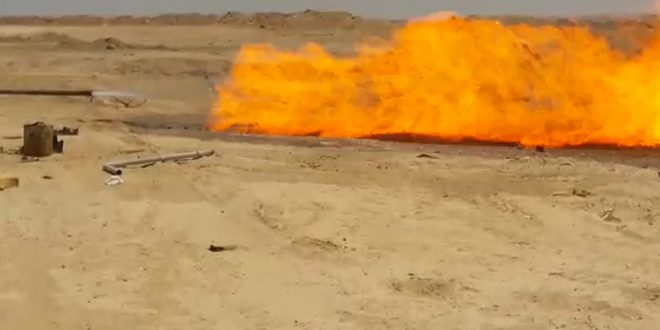 Sharifa 6 natural gas well repaired, put into production