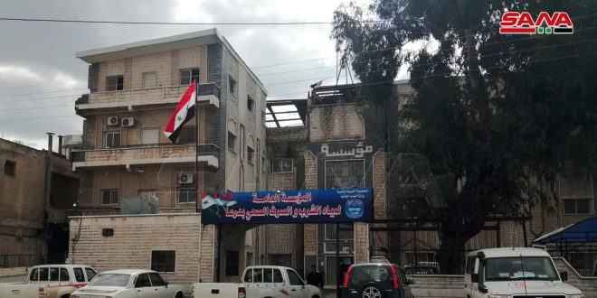 Two water pumping stations stopped due to two acts of sabotage in Daraa countryside