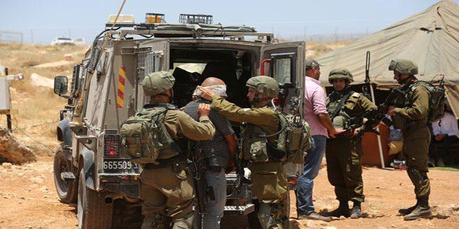 Israeli occupation troops arrest three Palestinians in Jenin