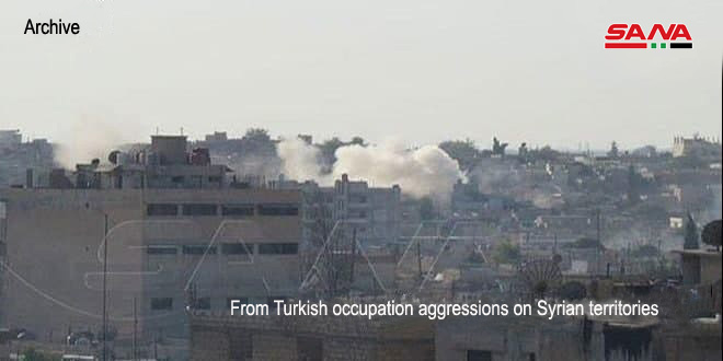 Several citizens injured in shelling attack by Turkish occupation on villages in Aleppo countryside