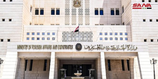 Syria strongly condemns Turkish regime's interference in Tunisian affairs