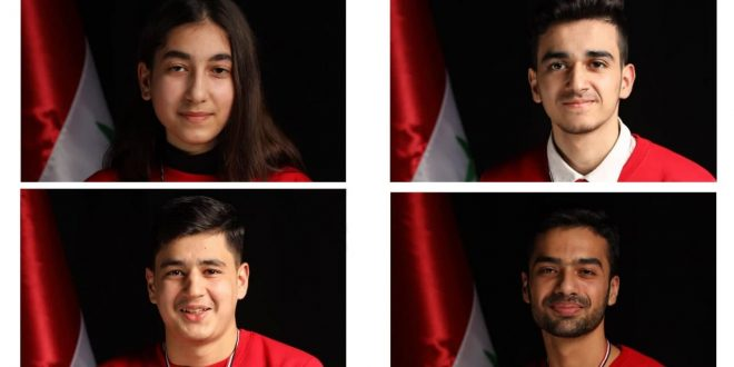 Three bronze medals and appreciation certificate for Syria at international Chemistry Olympiad
