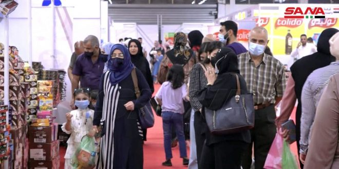 Made in Syria Exhibition in Baghdad witnesses mass popular turnout