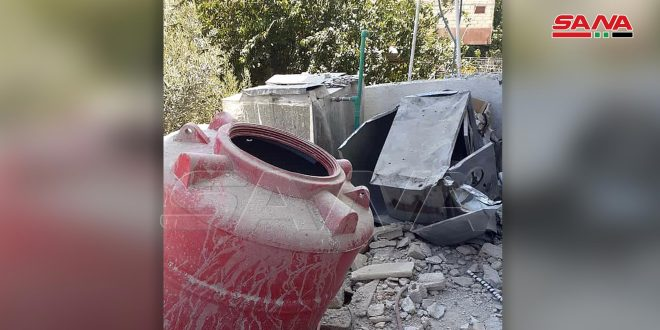 Remnants of terrorist groups shell civilians' houses in Daraa