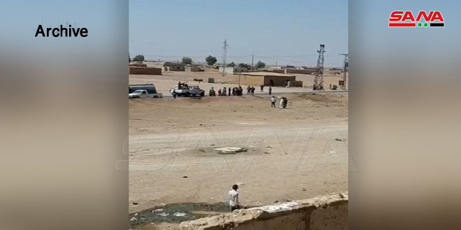 Backed by US occupation, QSD militia steals power transformer in Tal Hamis, Hasaka
