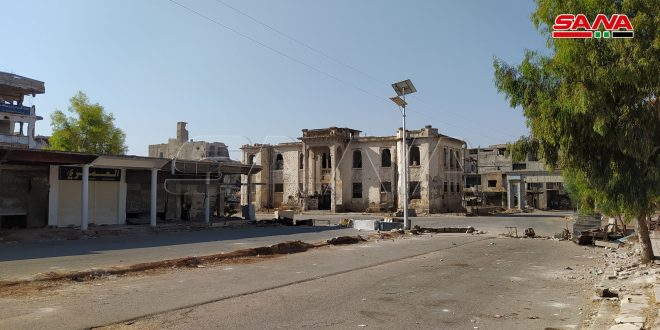 Two citizens martyred in an attack in Daraa