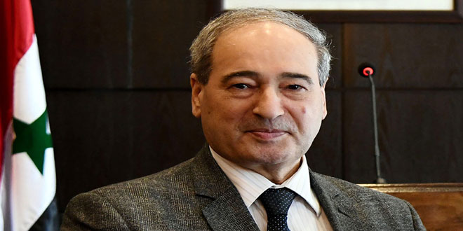 Mikdad: The US occupation forces must withdraw from Syria