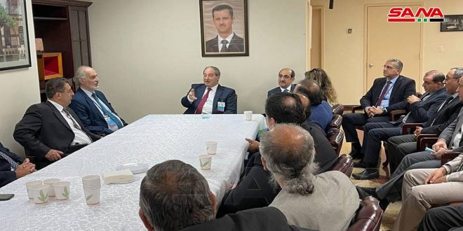 Mikdad: Syrian government to re-build what has been destroyed by terrorism