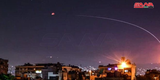 Army air defenses repel Israeli missile aggression in surroundings of Damascus