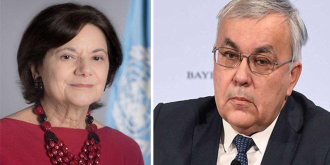 Vershinin, UN official discuss situation in Syria