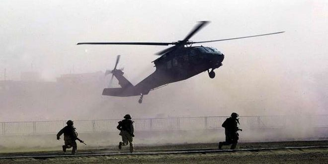 US occupation carries out airdrop, kidnaps several civilians, Qamishli countryside