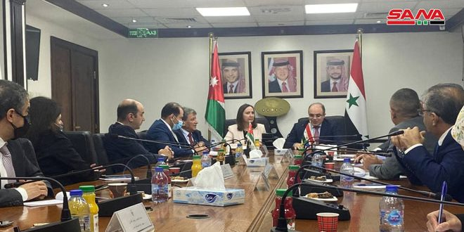 Various issues discussed by Syrian-Jordanian ministerial meetings