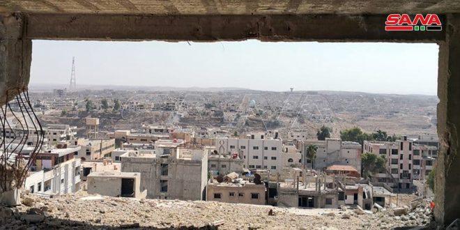 Terrorists hinder implementation of settlement agreement in Daraa al-Balad