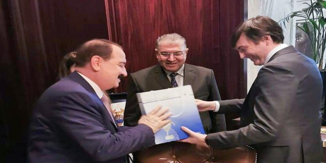 Syria-Russia discuss cooperation in development of educational complexes