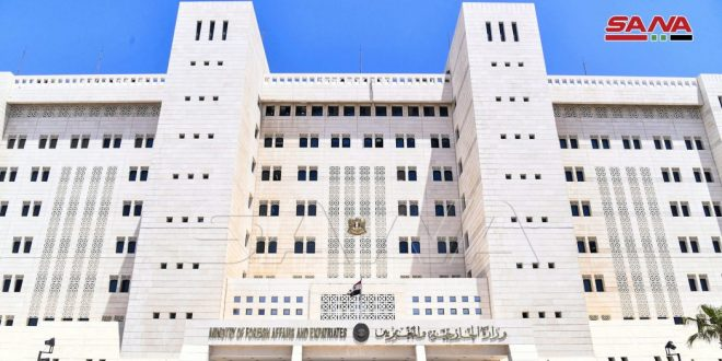 Syria supports one-china principle, condemns US policy