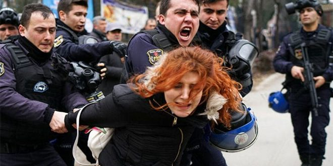 Turkish regime arrests 39 women under alleged connections to coup attempt