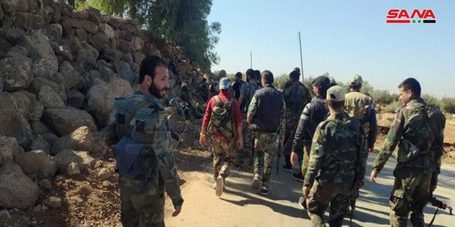 Army combs al-Hrak city, and its environs in Daraa northeastern countryside