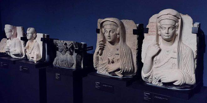 Shenzhen Nanshan Museum displays Syrian antiquities