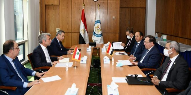 Discussions to complete procedures of transferring Egyptian gas to Lebanon via Syria and Jordan