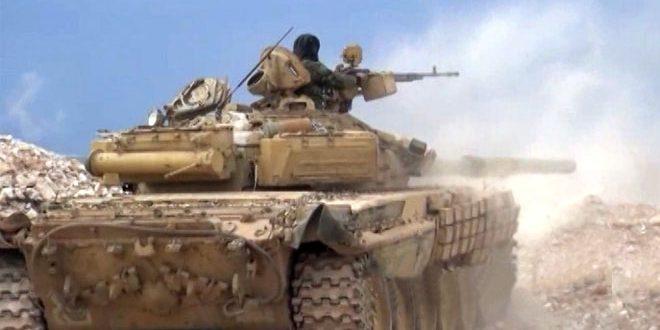 Ejército Sirio dirige precisos y duros ataques contra sedes terroristas en el campo de Alepo