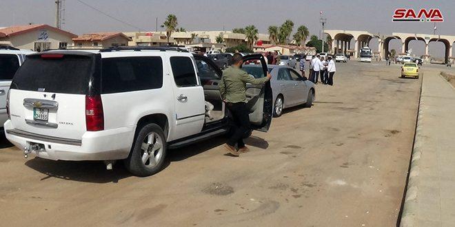 92 mil personas usaron el cruce fronterizo de Nassib desde su reapertura en octubre pasado