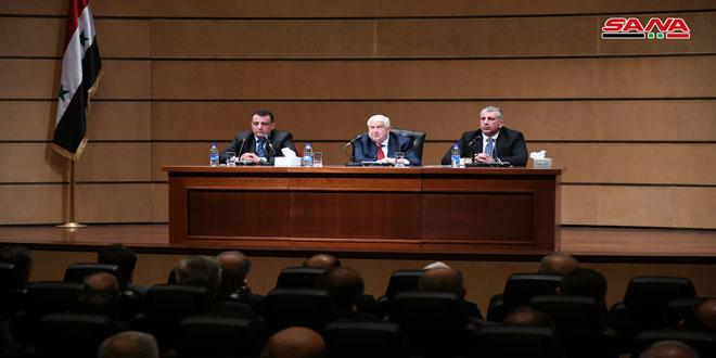 Nadie en Siria acepta una entidad kurda independiente o federal, afirma Al-Moallem