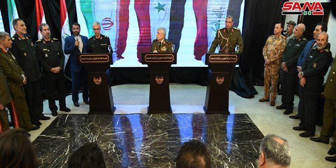 General Ayoub: no regateamos sobre nuestro derecho a defender nuestra soberanía y recuperaremos cada palmo del territorio sirio
