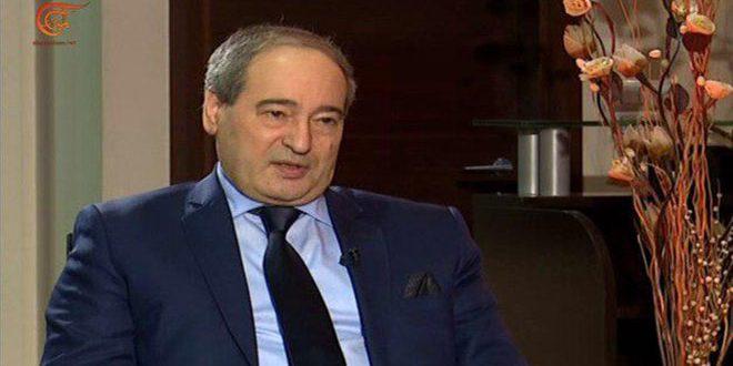 Al- Mekdad: El- Golán ocupado es una parte de Siria y restaurarlo de la ocupación israelí es una prioridad