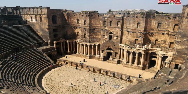 Bosra, la joya arqueológica del sur de Siria (+fotos)