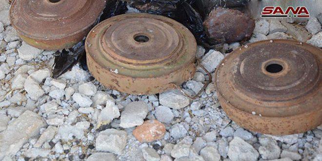 Explosión de mina mata a civil que cultivaba pistachos en Khan Shaikoun/Idlib