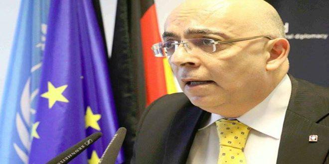 """Embajador Abu Said tilda de """"inhumanas"""" medidas coercitivas impuestas al pueblo sirio"""