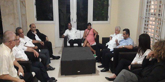 Cuba renueva su firme apoyo a Siria frente al terrorismo