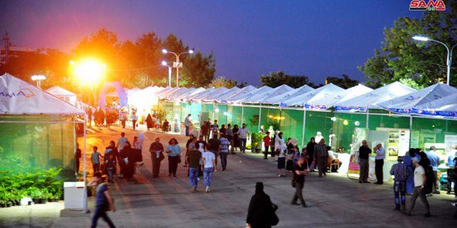Inauguran la Feria Internacional de Flores 2019 en Damasco