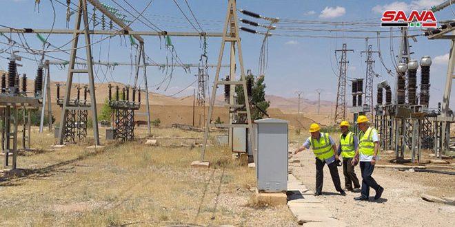 Finalizando la rehabilitación de la central eléctrica de Palmyra