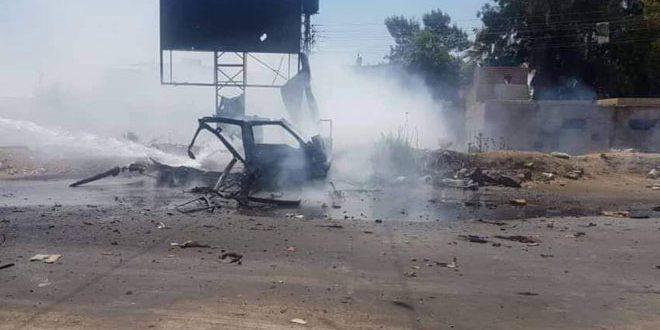 Atentado terrorista en Hassakeh deja dos heridos