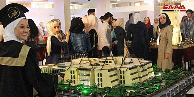 Proyectos de alumnos de la Facultad de Ingeniería Arquitectónica en Alepo sobre la reconstrucción