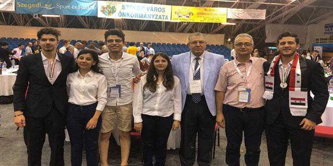 Siria gana dos medallas de bronce en la Olimpiada mundial de Biología
