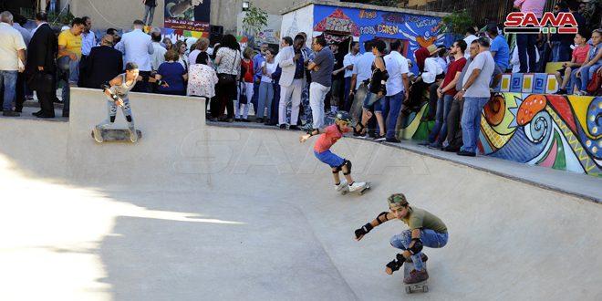 El primer parque de esquí para niños abre sus puertas en Qudssaya
