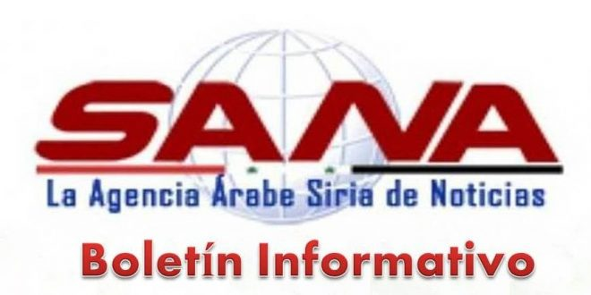 Boletín Informativo de la agencia SANA de las noticias del domingo, 25 de agosto